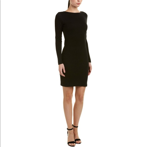 James Perse Dresses & Skirts - James Perse textured dress, black, 8/10, NWT